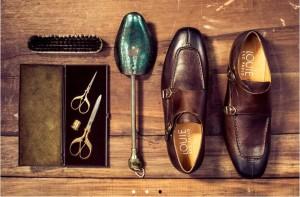 Louie sapatos masculinos