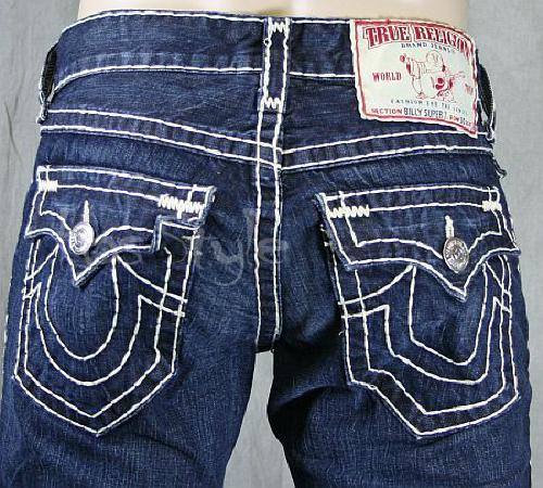 calça jeans masculina true religion
