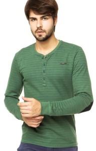 camisa gola henley