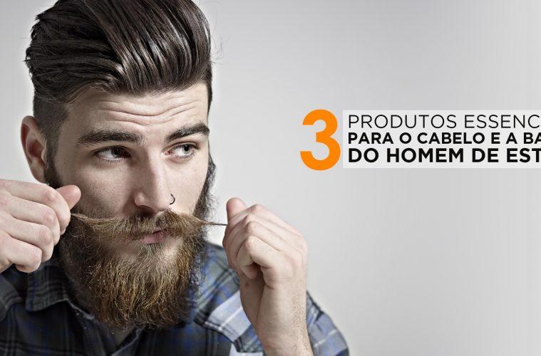 35044c68dabdb 3 Produtos Essenciais para o cabelo e a barba do homem de estilo