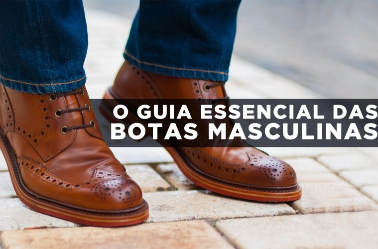 Infográfico  Guia Essencial das Botas Masculinas - Alberto Solon a15ab820ab2ff