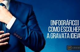 miniatura como escolher gravata ideal