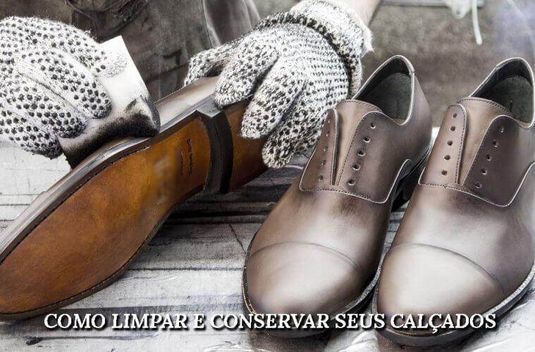 miniatura artigo conservar calçados
